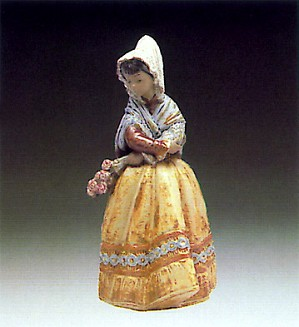 Lladro-Country-Girl  1978-88