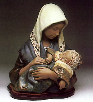 Lladro-Young Mother 1980-90