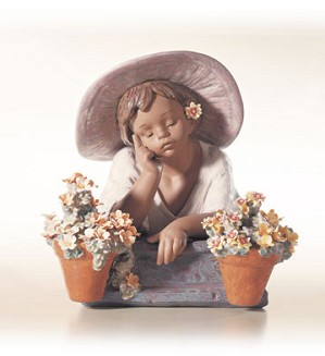 Retired Lladro-My Special Garden (1000)