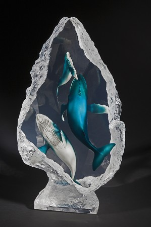 Kitty Cantrell-Blue Ballet Artist Proof
