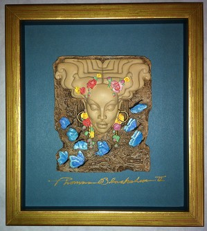 Ebony Visions-Spring Time Plaque Signed