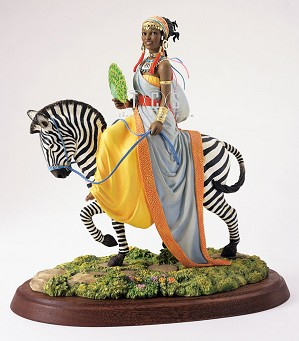 Ebony Visions-The African Queen