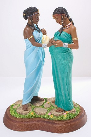 Ebony Visions-Sisters In Motherhood Signed By Thomas Blackshear