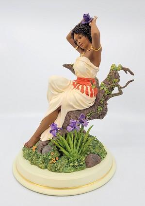 Ebony Visions_Iris In Bloom