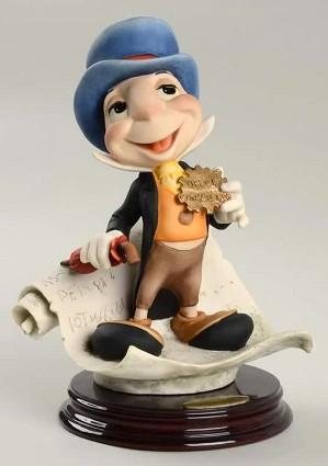 Giuseppe Armani-Jiminy Cricket Signed