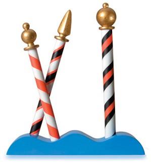 WDCC Disney Classics-It's A Small World Gondolier Poles
