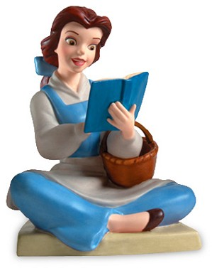 WDCC Disney Classics-Beauty And The Beast Belle Bookish Beauty