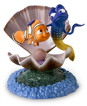 WDCC Disney Classics-Finding Nemo And Gurgle Im From The Ocean