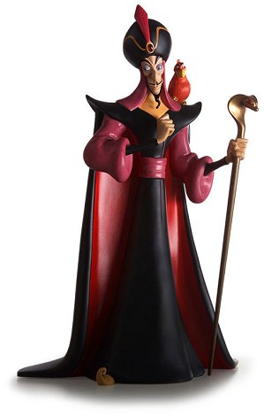 WDCC Disney Classics-Aladdin Jafar And Lago Villainos Vizier