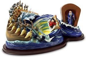 WDCC Disney Classics-Fantasia Sorcerer Mickey Yen Sid Brooms Magical Maelstrom
