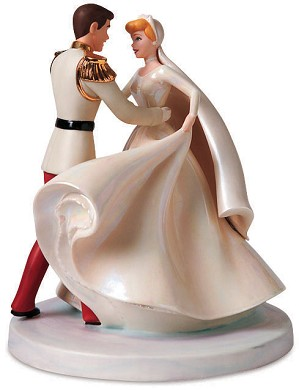 WDCC Disney Classics-Cinderella & Prince Charming Cake Topper Happily Ever After