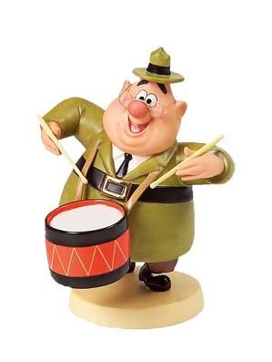 WDCC Disney Classics-Mickey Mouse Club J Audubon Woodlore Beat The Drums