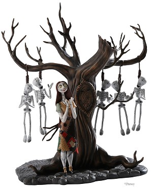 WDCC Disney Classics-The Nightmare Before Christmas Sally With Skeleton Tree
