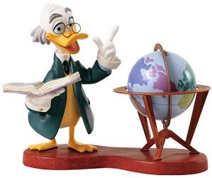 WDCC Disney Classics-Ludwig Von Drake Didactic Duck