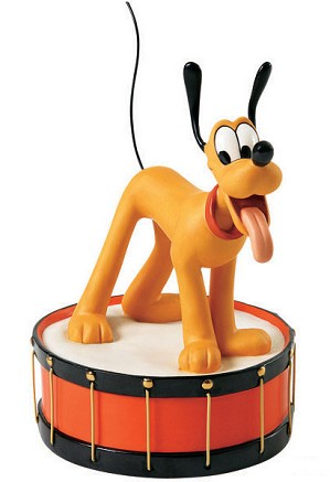 WDCC Disney Classics-Mickey Mouse Club Pluto Keep The Beat