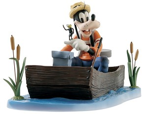 WDCC Disney Classics-Goofy And Wilbur Fishing Follies