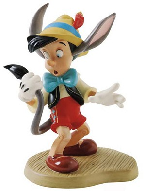 WDCC Disney Classics-Pinocchio A Terrifying Tail