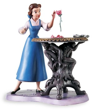WDCC Disney Classics-Beauty And The Beast Belle Forbidden Discovery
