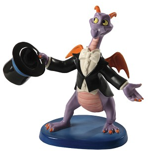 WDCC Disney Classics-Figment Top Hat and Tails Signed By Bruce Lau
