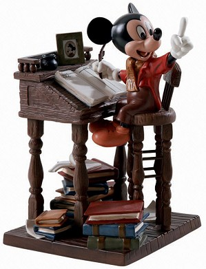 WDCC Disney Classics-Mickeys Christmas Carol Mickey Mouse Ernest Employee