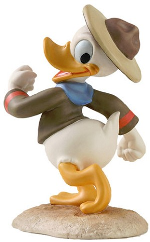 WDCC Disney Classics-Good Scouts Donald Duck Happy Camper