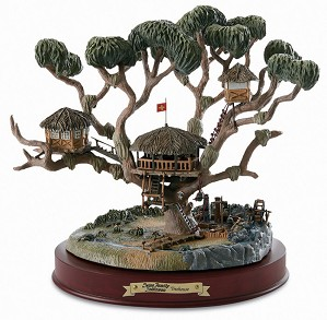 WDCC Disney Classics-Swiss Family Robinson Treehouse