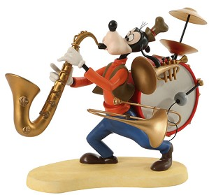 WDCC Disney Classics-Mickey Mouse Club Goofy One Man Band