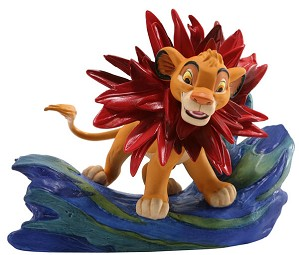 WDCC Disney Classics-The Lion King Simba Little King Big Roar