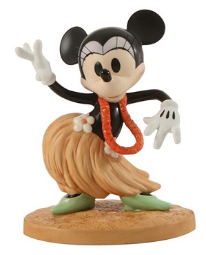 WDCC Disney Classics-HawaIIan Holiday Minnie Mouse Swaying Sweetheart