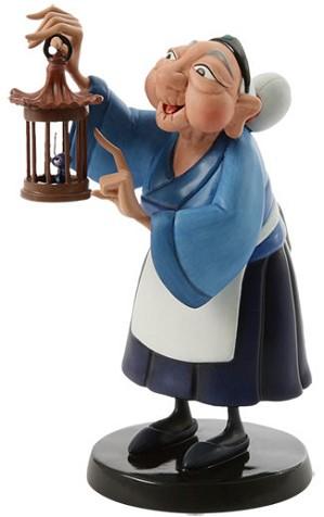 WDCC Disney Classics-Mulan Grandma Fa And Cri Kee Ive Got All The Luck We Need