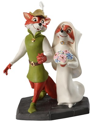 WDCC Disney Classics-Robin Hood And Maid Marian Merry Matrimony