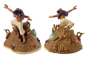 WDCC Disney Classics-Aladdin Racing To The Rescue