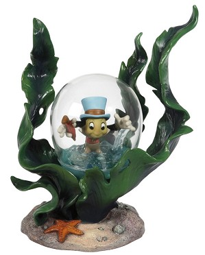 WDCC Disney Classics-Pinocchio Jiminy Cricket Bubble Trouble