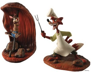 WDCC Disney Classics-Song Of The South Brer Rabbit And Brer Fox Cooking Up A Plan