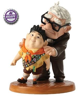 WDCC Disney Classics-Up Carl And Russell Meritorious Moment