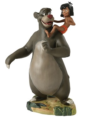 WDCC Disney Classics-The Jungle Book  Baloo And Mowgli Good Ol Papa Bear