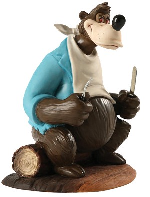 WDCC Disney Classics-Song Of The South Brer Bear A Hankering For Hare