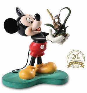 WDCC Disney Classics-Walt Disney Classics Collections 20th Anniversary Mickey It All Started with a Field Mouse