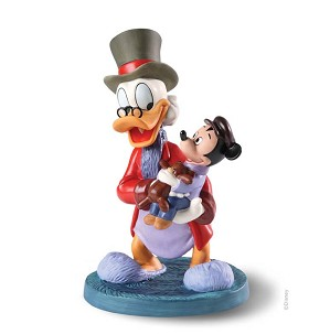 WDCC Disney Classics-Classic Cartoons Scrooge and Tiny Tim Tidings of Joy and Goodwill