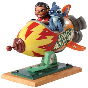 WDCC Disney Classics-Lilo and Stitch Storefront Spaceship