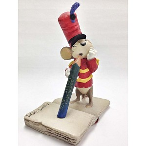 Walt Disney Archives-Timothy Mouse Maquette From Dumbo