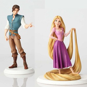 Walt Disney Archives-Rapunzel & Flynn Rider Maquette From Tangled