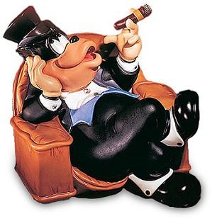 WDCC Disney Classics-Symphony Hour Sylvester Macaroni