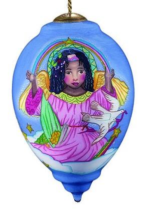 Thomas Blackshear Neqwa-Angel cloud Neqwa Ornament