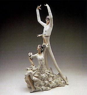 Lladro-Flamenco Dancers 1969-93