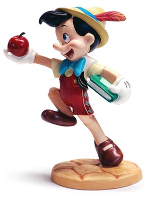 WDCC Disney Classics-Pinocchio Goodbye Father