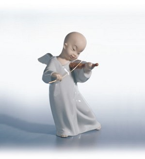 Retired Lladro-Chinese Angel