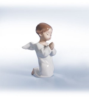 Retired Lladro-Angel, Praying