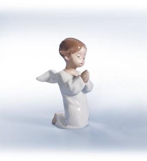 Lladro-Angel, Praying