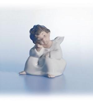 Lladro-Angel, Thinking